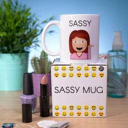 Emoji Sassy Mug