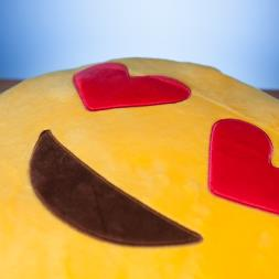 Emoji Cushion - Much Love