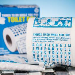 Things To Do While You Poo Toilet Roll