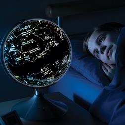 2 in 1 Light Up Earth & Constellations Globe