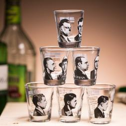 Mug Shot Shot Glasses