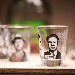 Mug Shot Shot Glasses