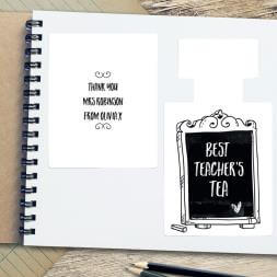 Personalised Best Teacher Tea