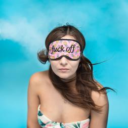 F*ck Off Pineapple Eye Mask