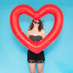 Beach Please! Jumbo Heart Inner Tube