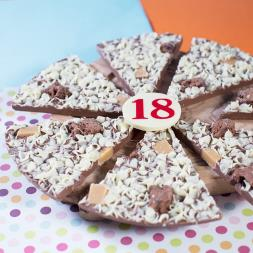 18th Birthday Chocolate Pizza - 10""