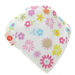 Baby Girl Dribble Bibs - 4 Pack