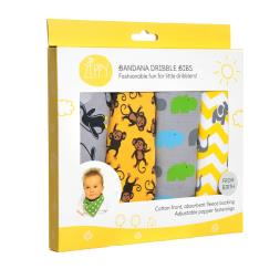 Bandana Dribble Bibs - 4 Pack