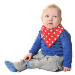 Baby Boy Uptown Dribble Bibs - 4 Pack