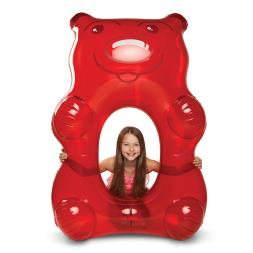 Giant Red Gummy Pool Float