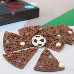 Football Chocolate Pizza 10""