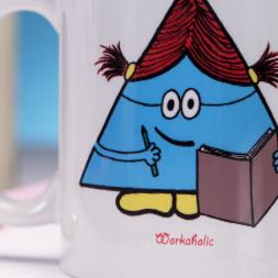 Personalised Office Character Mug
