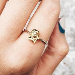 Emoji Sassy Girl Ring