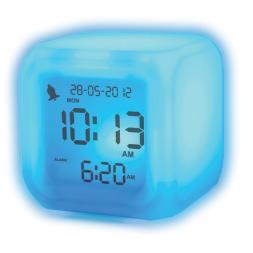 Aurora Ice Colour Changing Alarm Clock