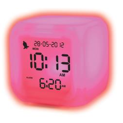 Aurora Ice Colour Changing Alarm Clock