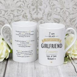 Personalised 'I Am Glad...' Mug