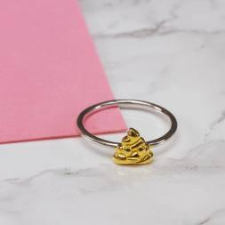 Emoji Poop Ring