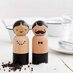 Mr & Mrs Salt and Pepper