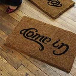 Come In, Go Away Doormat
