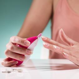 Mini Battery Operated Manicure Kit