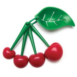 Mon Cherry Measuring Spoons And Egg Yolk Separator