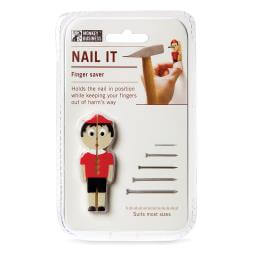 Nail It! Finger Saving Nail Holder