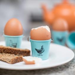 Bucket Egg Cups - Hens