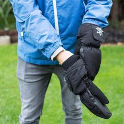 Battery Heated Thinsulate Mittens - Medium/ Large