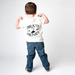 Personalised Pirate T-shirt