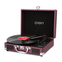 Ion Vinyl Motion - Portable Suitcase Turntable And Speakers