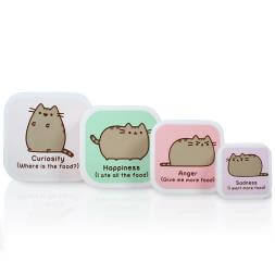 Pusheen Snack Boxes - Set of 4