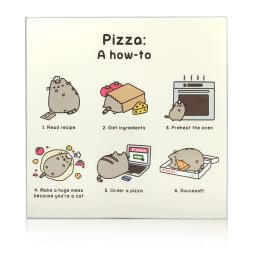 Pusheen Chopping Board - Pizza