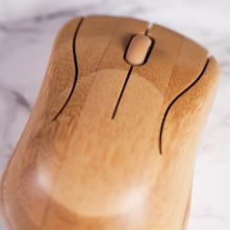 Wireless Bamboo Keyboard And Mouse