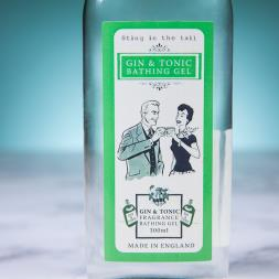 Gin and Tonic Bathing Gel