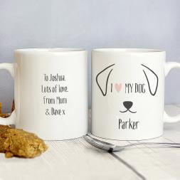Personalised Dog Mug