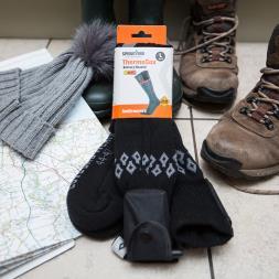 Battery Heated Thinsulate Socks - Large