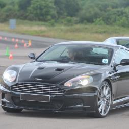 Lamborghini and Aston Martin Driving Blast