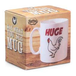 Say What You See Mug - Cock
