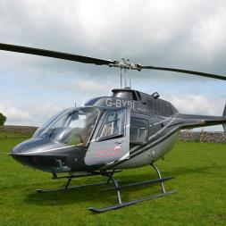 Blue Skies Helicopter Tour with Bubbly for Two