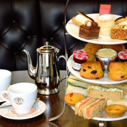 Afternoon Tea for Two at Patisserie Valerie with Cake Gift Box