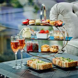 Champagne Afternoon Tea for Two at Marco Pierre White Restaurant