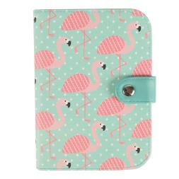 Flamingo Passport Holder