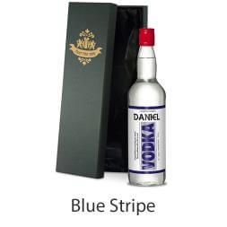 Personalised Vodka and Silk Lined Gift Box