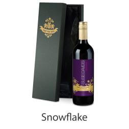 Personalised Bottle of Mulled Wine in Silk Lined Gift Box