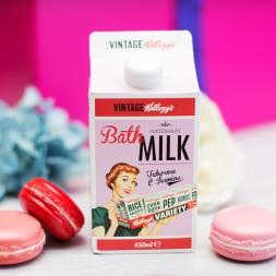 Kellogg's 50's Vintage Bath Milk - Tuberose And Jasmine