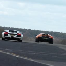 Double Supercar Thrill with High Speed Passenger Ride - Special Offer