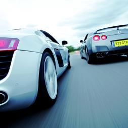 Supercar Driving Blast with High Speed Passenger Ride