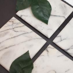 Marble Coasters - Set Of 4