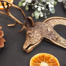 Autumn Stag Nutcracker
