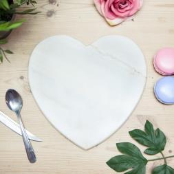 Marble Heart Chopping Board